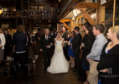 Jarrod and Steph in Junee wedding ceremony