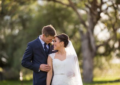 Jarrod and Steph in Junee wedding photo shoot