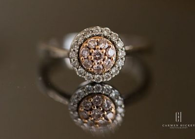 Tyler and Tessa in Wagga Wagga bride engagement ring b