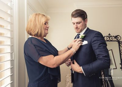 Patrick and Alex in Wagga Wagga wedding preparation photo