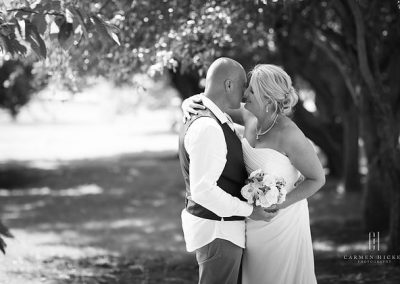 Alex and Lisa wedding photo shoot in Yarralumla Dunrossil Drive