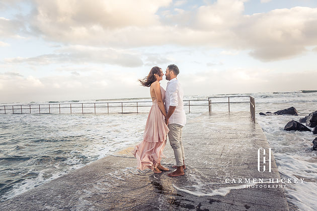 Engagement Photos of Love in Wollongong