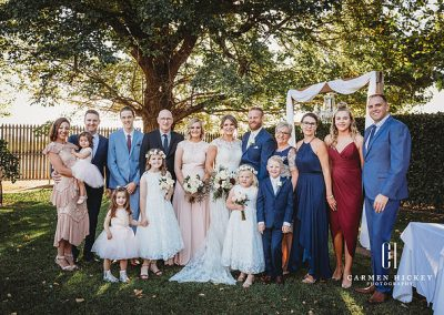 Peter Belinda Happily ever after family photos at Lindenwarrah Milawah