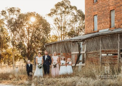 Peter Belinda Happily ever after wedding photo shoot at Lindenwarrah Milawah