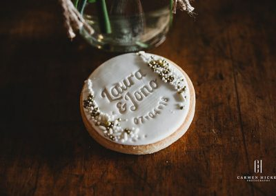 The Richness of Love Jono Laura reception styling