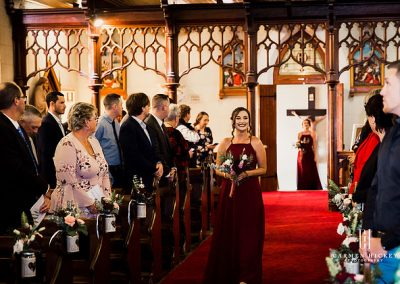Mitch Bree Winter Love in Wagga Wagga church ceremony
