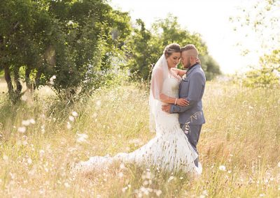 Jono and Adelle at Orange Grove Gardens Culcairn photo shoot